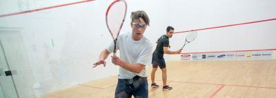 Stephen Messier, Junior Squash, Yellowknife, NWT Squash